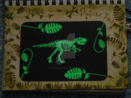 sketchbook page 24 - glow in the dark by lonesomeaesthetic