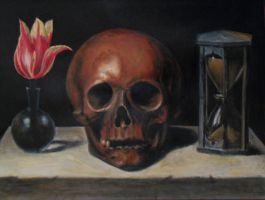 Vanitas Still Life - Copy by K-Elyas