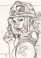 tank girl by Ruihq