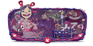 Gorillaz Sign by Luciano246BR