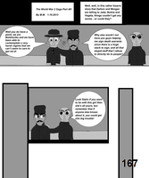 The World War 2 Saga Chap 40 Page 167 b and w by mamc1986
