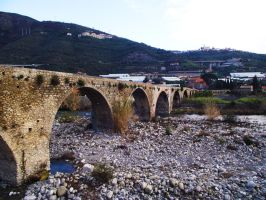 Roman bridge by Braioz