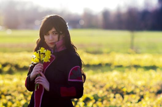Flowers for Korra by usatame