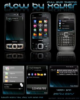Flow - Full SVG symbian theeme by Xavier-Themes