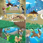 From Younger to Ace Trainer (Pokemon Commission) by danny-spikes