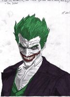 The Joker by Pythagasaurus