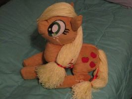 Applejack Plush for April by Kt-Lynx