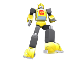 Bumblebee 3D by Laserbot