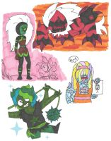 Steven universe AU 5 - Summer of Cluster by Abrigedfoamy