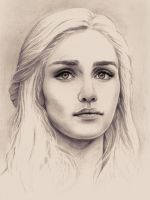 Daenerys Targaryen, The Unburnt Mother of Dragons by Adelmort