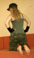 Hot Soldier 010 by foot-portrait