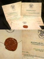Harry Potter Acceptance Letter - Italian Version by Hairac