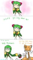 Hold My Flowers by HezuNeutral
