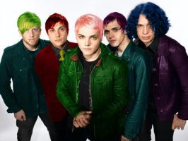 Colourful My Chemical Romance by the-used-rox