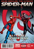 Miles Morales: The Ultimate Spider-man 4 (fanmade) by ultimatejulio