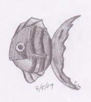 Realistic Fish by thefireflii