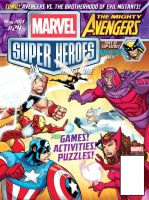 Marvel Super Heroes Magazine issue 24 cover by bennyfuentes