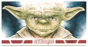 Yoda - RotJ WV Artist Proof by Erik-Maell