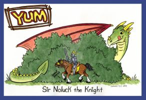 Sir Noluck, Yum by TerrifyingLint