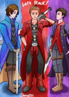 SPN: Devil May Cry Crossover by LuciferianRising