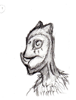 OwlMan Hiss Animation test 1 by Rone-Ombre