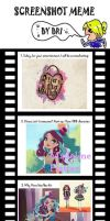 Ever After High Screenshot Meme by tultsi93