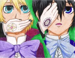 Ciel and Alois by EdwardElric141