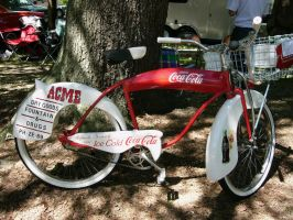1953 Coca-Cola bicycle - Acme Drug Store by RoadTripDog