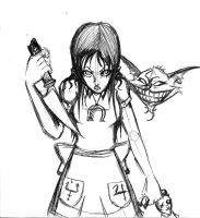 Alice Madness Returns sketch by tematu