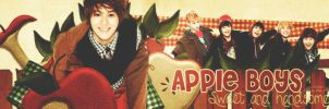 Apple Boy with Shinee by @EJ by Eriol-Diggory-Art
