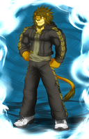 Axel Leonard - New Char Design by WarGreymon43