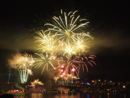 Fleet Review Fireworks 22 by BrendanR85