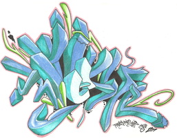 tesm graffiti by pineapplejams