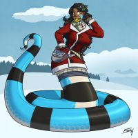 Crius Winter Reference - Winter Coat by FicusArt