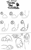 Feline paw tutorial by Mackanga