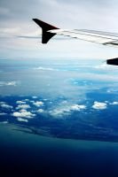 The View From the Plane by ren241295