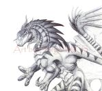 +EDITED+ Another Pen Dragon by DargonXKS