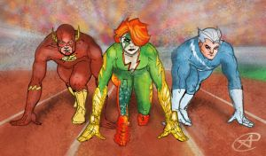 Who Is the Fastest of Them All? by photon-nmo