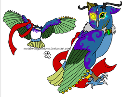 Single Adopts- Owl 01- 50 Points- SOLD by MWGadopts