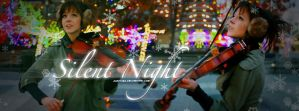 Lindsey Stirling_Silent Night by juztkiwi