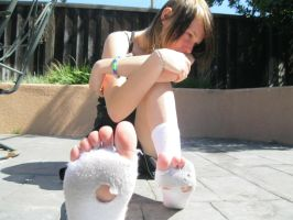 the homeless girl with holey socks 4 by wasabieater