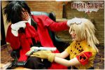 Hellsing Cosplay: Good Work, Police Girl by Redustrial-Ruin
