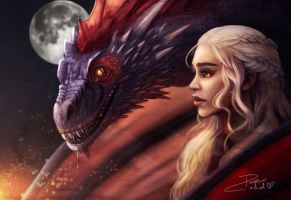 Dracarys! by Papercloudzy