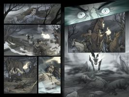 Hound of the Baskervilles page by dannlord