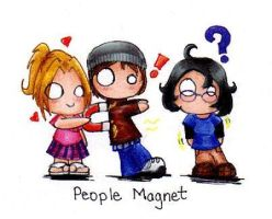 People Magnet by MintKitty