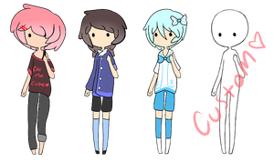 Cutie boys adopts- OPEN by Mimichiie