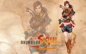 Claire Redfield onimusha soul wallpaper HD by Queen-Stormcloak