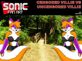 Censored Villie Vs Uncensored Villie by Megamink1997