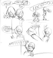 Mini Comic Page 2 by JimmytheGothicEgg