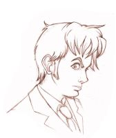 DW- Tenth Doctor close-up by Noe-Izumi